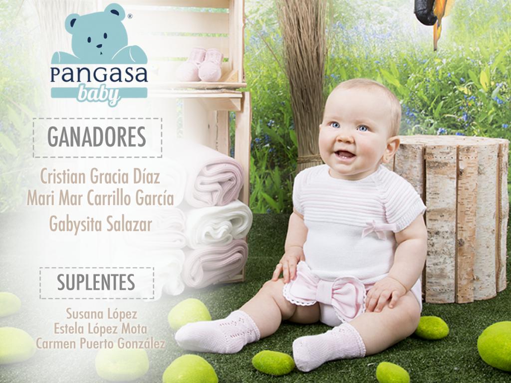 Ganadores sorteo Pangasa Baby Verano 2016