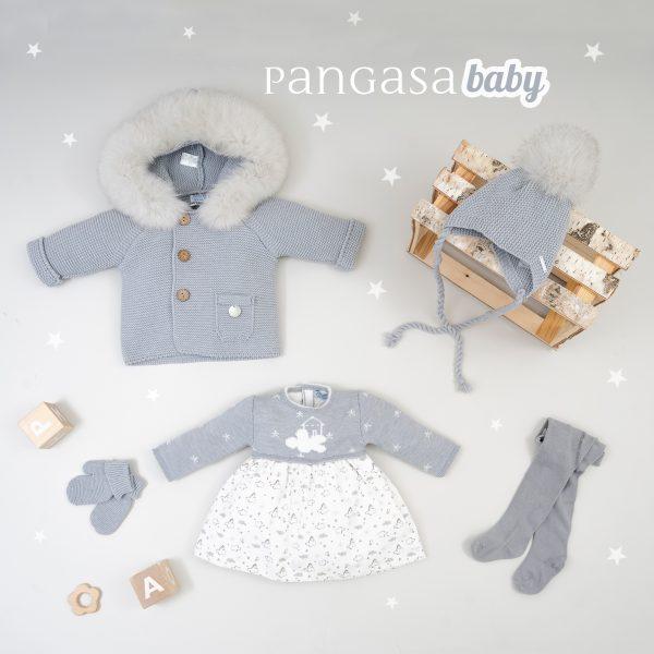 pangasa baby colección invierno vestido clouds