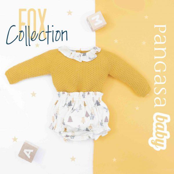 pangasa baby fox collection invierno ropa bebe