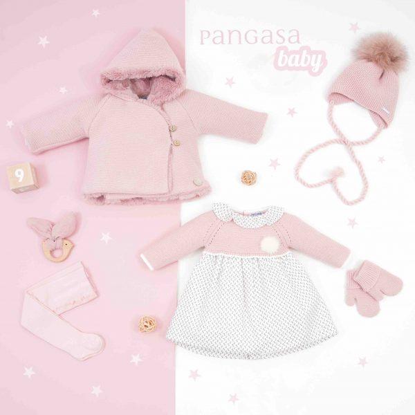 pangasa baby colección little flower baby girl vestido