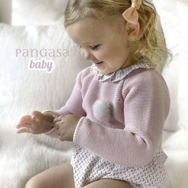 pangasa baby colección otoño invierno little flower baby girl