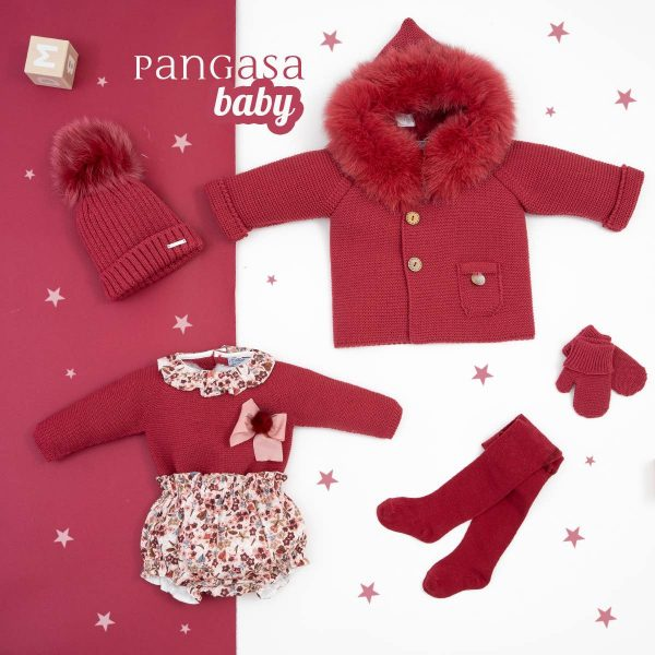 pangasa baby maroon flower collection autum winter