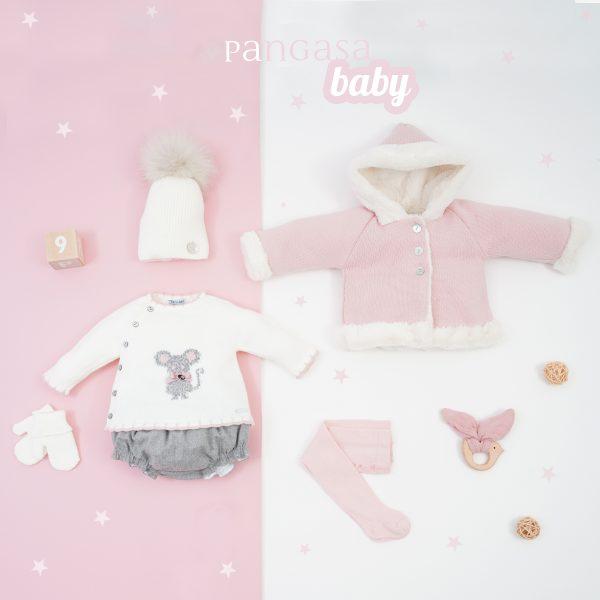 pangasa baby colección otoño invierno little mouse baby girl clothes